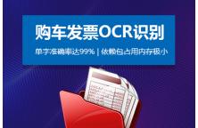 购车发票OCR文字识别